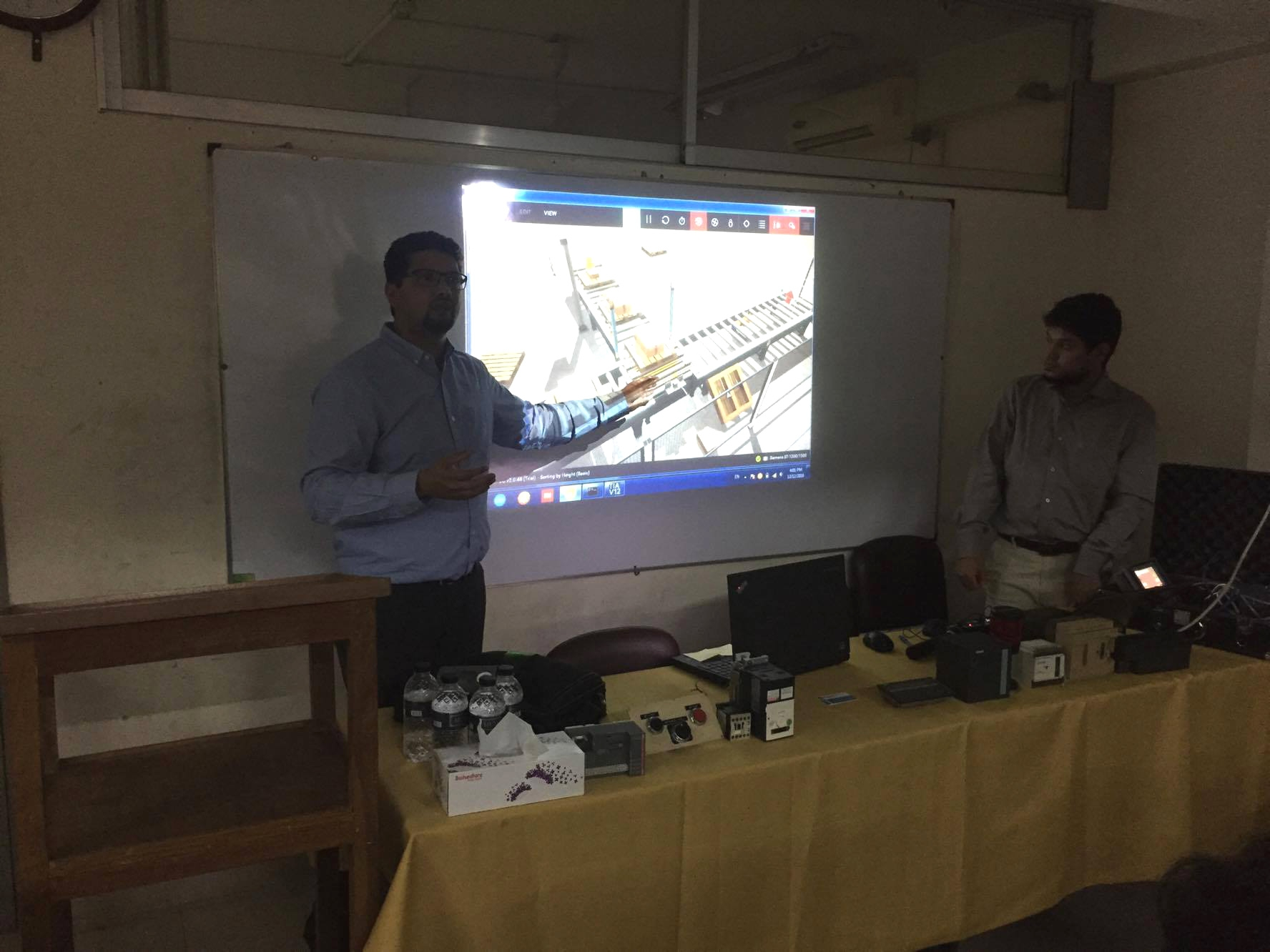 "Seminar on ""Industrial Automation"""